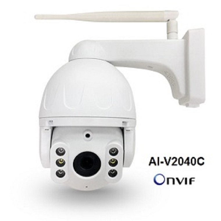 Camera Wifi Flood Light Onvif Pan/Tilt 4.0MP AI-V2040C