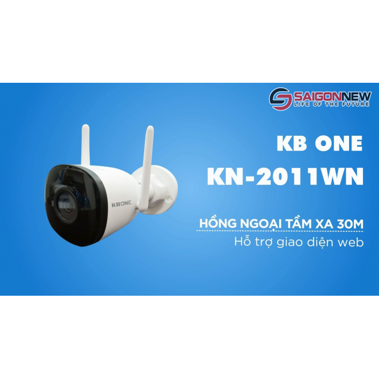 Camera IP Wifi KBONE KN-2011WN Full HD 2.0MP